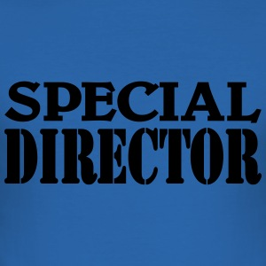 Special Director T-Shirts - Men's Slim Fit T-Shirt