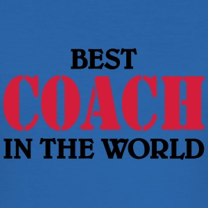 Best Coach in the World T-shirts - Herre Slim Fit T-Shirt
