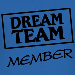 Dream Team Member T-skjorter - Slim Fit T-skjorte for menn