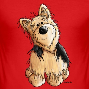 Yorkshire Terrier - Chien Tee shirts - Tee shirt près du corps Homme