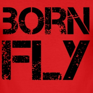 Born Fly T-Shirts - Men's Slim Fit T-Shirt