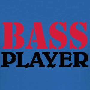 Bass Player T-Shirts - Männer Slim Fit T-Shirt