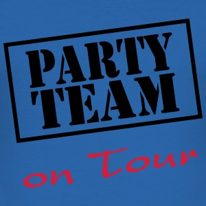 Party Team on Tour T-skjorter - Slim Fit T-skjorte for menn