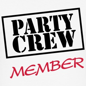Party Crew Member T-shirts - slim fit T-shirt