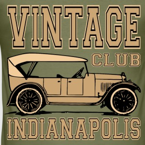 vintage car 02 T-Shirts - Men's Slim Fit T-Shirt