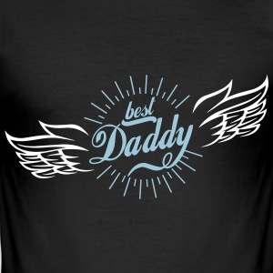 Best Daddy - Männer Slim Fit T-Shirt