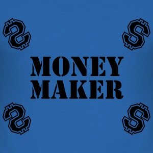 Money Maker T-skjorter - Slim Fit T-skjorte for menn