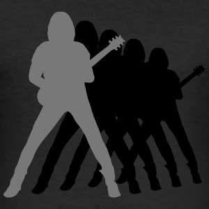 guitarist T-shirts - Herre Slim Fit T-Shirt