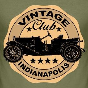 vintage car 03 T-Shirts - Men's Slim Fit T-Shirt