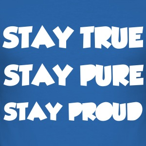 Stay True T-shirts - Herre Slim Fit T-Shirt