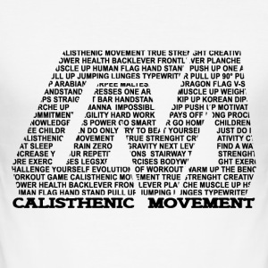 Calisthenic Movement Logo aus Text - Männer Slim Fit T-Shirt