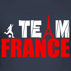 team france T-shirts - Herre Slim Fit T-Shirt