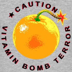 Vitamin Bomb Terror - Black T-Shirts - Männer Slim Fit T-Shirt