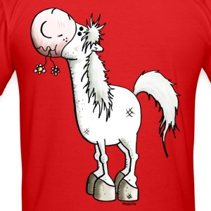 Dreamy Horse - Horses - Pony T-Shirts - Men's Slim Fit T-Shirt