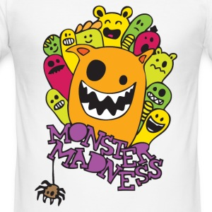 Monster Madness T-shirts - slim fit T-shirt
