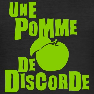 pomme discorde expression Tee shirts - Tee shirt près du corps Homme