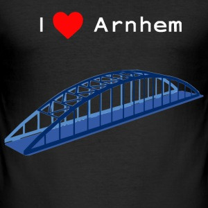 Arnhem, John Frostbrug (wit) T-shirts - slim fit T-shirt