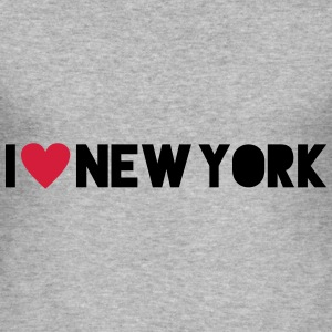 I Love New York T-skjorter - Slim Fit T-skjorte for menn