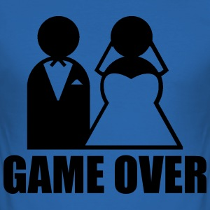 Game Over Tee shirts - Tee shirt près du corps Homme