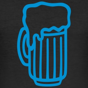Beer glass T-Shirts - Men's Slim Fit T-Shirt