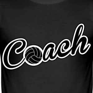 Volleyball Coach T-shirts - slim fit T-shirt