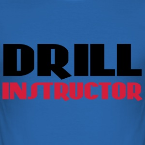 Drill Instructor T-shirts - Herre Slim Fit T-Shirt