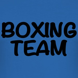 Boxing Team T-Shirts - Men's Slim Fit T-Shirt