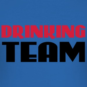 Drinking Team T-skjorter - Slim Fit T-skjorte for menn
