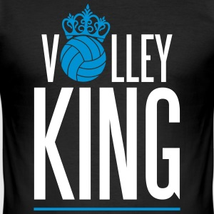 Volleyball King T-shirts - Slim Fit T-shirt herr