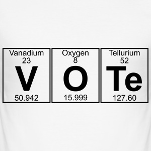 V-O-Te (vote) T-Shirts - Men's Slim Fit T-Shirt