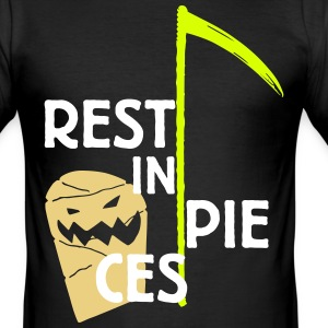 Halloween Rest in pieces T-Shirts - Männer Slim Fit T-Shirt
