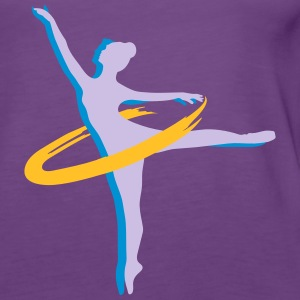 two Ballet dancer Tops - Women's Premium Tank Top