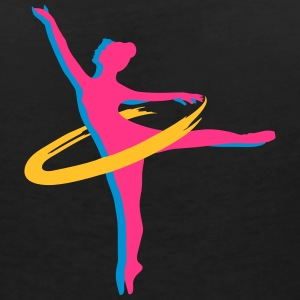 two Ballet dancer T-Shirts - Women's V-Neck T-Shirt