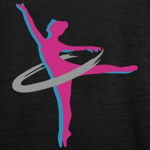 two Ballet dancer Tops - Women's Tank Top by Bella