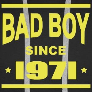 Bad Boy since 1971 - Sweat-shirt à capuche Premium pour hommes