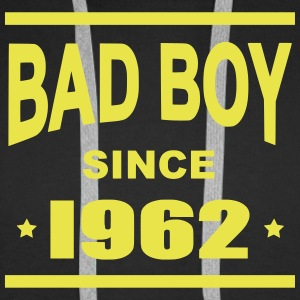 Bad Boy since 1962 - Bluza męska Premium z kapturem