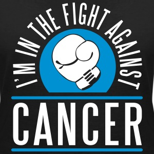 I'm in the fight against cancer T-Shirts - Women's V-Neck T-Shirt