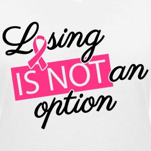 Losing is not an option T-shirts - Vrouwen T-shirt met V-hals