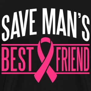 Save man's best friend T-Shirts - Men's Premium T-Shirt