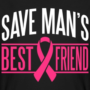 Save man's best friend T-shirts - Organic mænd