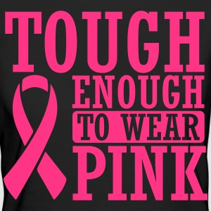 Tough enough to wear pink T-shirts - Organic damer