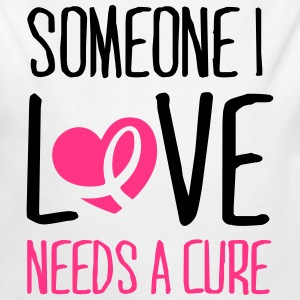 Someone I love needs a cure Sweats - Body bébé bio manches longues
