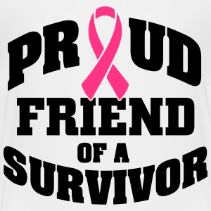 Proud friend of a survivor Shirts - Teenage Premium T-Shirt