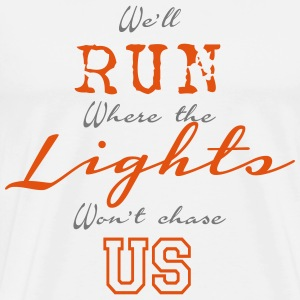Run Lights T-Shirts - Männer Premium T-Shirt