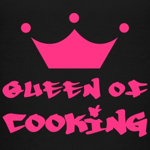 Queen of Cooking Shirts - Kinderen Premium T-shirt