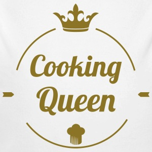 Cooking Queen Pullover & Hoodies - Baby Bio-Langarm-Body