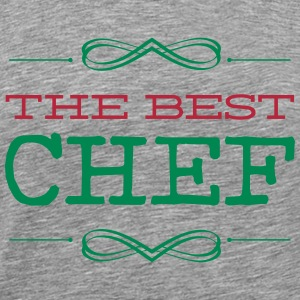 The Best Chef   cooking T-skjorter - Premium T-skjorte for menn