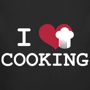 I Love Cooking Pullover & Hoodies - Baby Bio-Langarm-Body