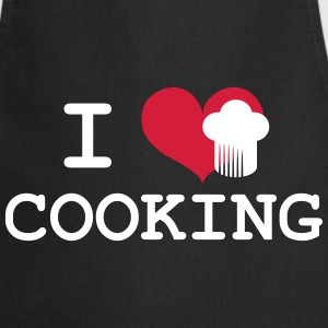 I Love Cooking Delantales - Delantal de cocina