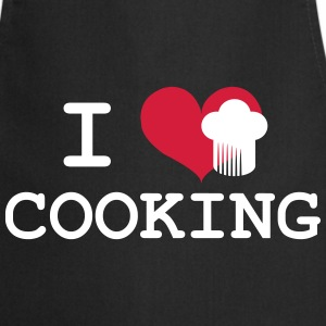 I Love Cooking  Aprons - Cooking Apron